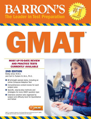 GMAT with Online Test PDF