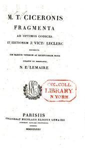 Quae exstant omnia opera: cum deperditorum fragmentis ... item indices quinque, novi et absolutissimi, Volume 23