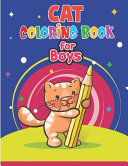 Cat Coloring Book for Boys