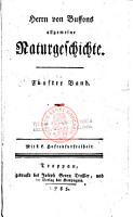 Herrn von Buffons allgemeine Naturgeschichte PDF