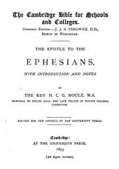 The Epistle to the Ephesians : with Introduction and Notes