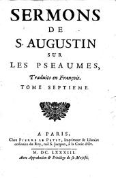 Sermons sur les Pseaumes: Volume7