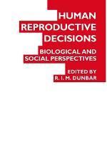 Human Reproductive Decisions