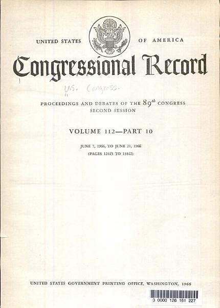 Download Congressional Record Book