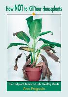 How Not to Kill Your Houseplants PDF