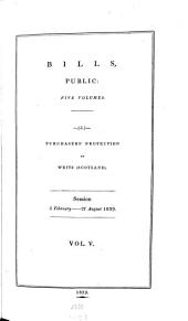 Parliamentary Papers: Volume 5