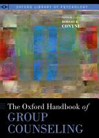 The Oxford Handbook of Group Counseling PDF