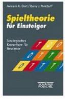 Spieltheorie f  r Einsteiger PDF