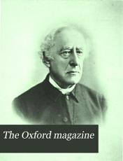 The Oxford Magazine PDF