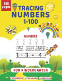 Tracing Numbers 1-100 For Kindergarten Ages 3+