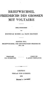 Publicationen aus den Preussischen staatsarchiven: Volumes81à82