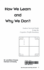 How We Learn and Why We Don t PDF