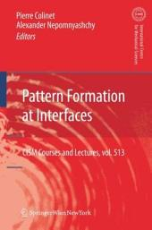 Pattern Formation at Interfaces