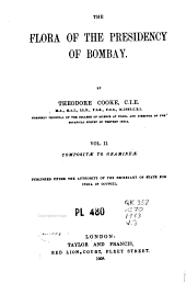 The Flora of the Presidency of Bombay: Volume 2