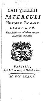 L. Annaei Flori Epitome rerum Romanarum libri IV.