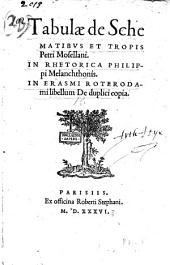Tabulae de schematibus et tropis Petri Mosellani