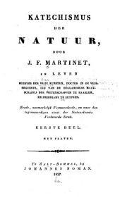 Katechismus der natuur: Volume 1