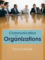 Communication in Organizations PDF