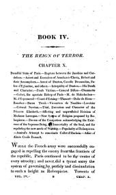 History of the French revolution, and of the wars resulting from that memorable event. 11 vols. [in 12. Wanting the title-leaves of vol.4,5,8].
