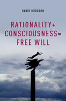 Rationality   Consciousness   Free Will PDF