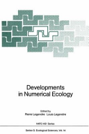 Developments in Numerical Ecology