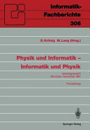 Physik und Informatik     Informatik und Physik PDF
