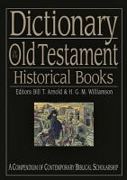 Dictionary of the Old Testament  Historical books PDF