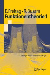 Funktionentheorie 1: Ausgabe 4