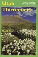Utah Thirteeners Book