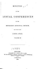 General Minutes of the Annual Conferences of the United Methodist Church in the United States, Territories, and Cuba