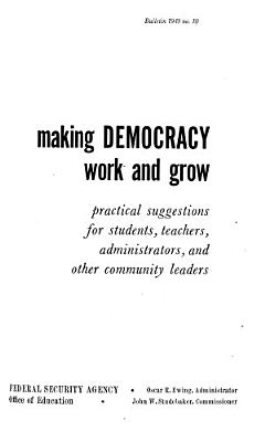 Making Democracy Work and Grow PDF