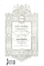 Anna Bolena tragedia lirica ... [musica di] Gaetano Donizetti