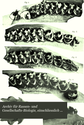 Archiv für Rassen- u. Gesellschafts-Biologie: einschliesslich Rassen- u. Gesellschafts-Hygiene, Band 5;Band 1908
