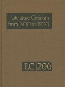 Literature Criticism From 1400 1800 PDF