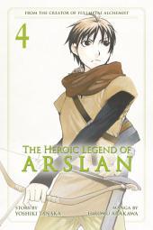 The Heroic Legend of Arslan Volume 4