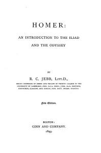 Homer  an Introduction to the Iliad and the Odyssey PDF