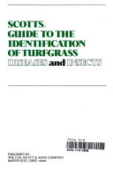 Scotts Guide to the Identification of Turfgrass Diseases and Insects PDF