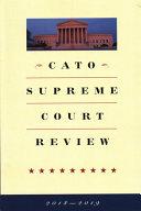 Download Cato Supreme Court Review Book