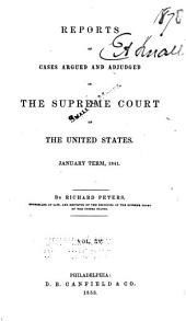 United States Reports: Cases Adjudged in the Supreme Court, Volume 40