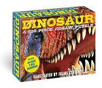 Dinosaurs: 550-Piece Jigsaw Puzzle & Book