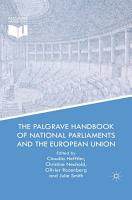 The Palgrave Handbook of National Parliaments and the European Union PDF