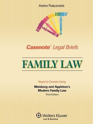 Casenote Legal Briefs Family Law PDF