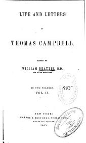 Life and Letters of Thomas Campbell: Volume 2