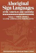 Aboriginal Sign Languages of The Americas and Australia PDF