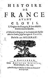 Histoire de France avant Clovis