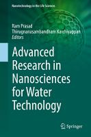 Advanced Research in Nanosciences for Water Technology PDF