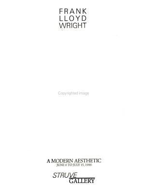 Frank Lloyd Wright  a Modern Aesthetic PDF