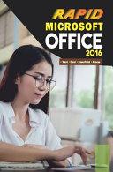 Microsoft Office 2016 Rapid Edition Book PDF