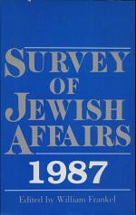 Survey of Jewish Affairs, 1987