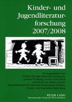 Kinder  und Jugendliteraturforschung 2007 2008 PDF